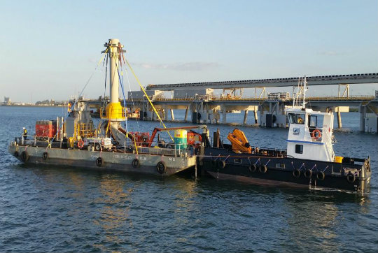 24 0 m Length WB3 Flat Top Barge - Work Boat Hire